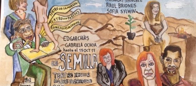 La Semilla, el 'teatro negro' de Edgar Chías en el Granero