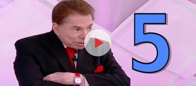 As 5 maiores 'tiradas' de Silvio Santos em famosos