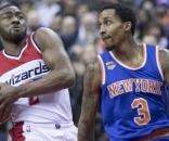 John Wall, Brandon Jennings | Knicks at Wizards 1/31/17 | Flickr | Keith Allison CC BY-SA 2.0
