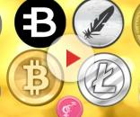 Diferentes moedas virtuais com potencial