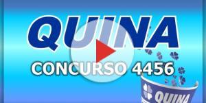 Sorteio da Quina, concurso 4456