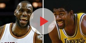 YouTube Thumbnail Screenshot (Black9ne) - Magic praised by LeBron