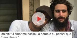 Ícaro Silva se declara a amigo de 'Malhação'