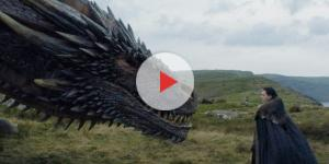 Jon Snow meets Drogon. Screencap: Ewaynn Edit via YouTube