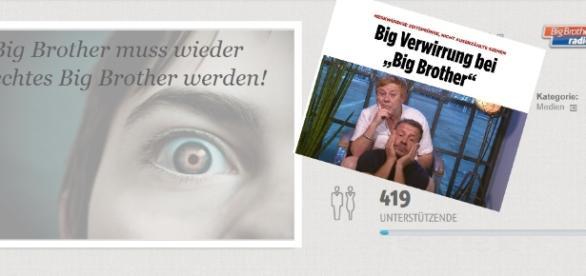 Fans startete mit ihrem Fanradio eine Petition, auch die Bildzeitung berichtete bereits / Fotos: Openpetition, Bild.de Screenshots