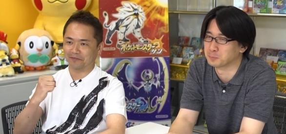 Junichi Masuda and Shigeru Ohmori of Game Freak - nintendoeverything.com