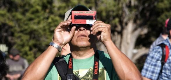 Solar eclipse viewer / Photo via Grand Canyon National Park, Flickr