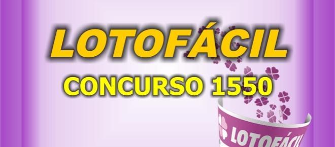 Resultado da Lotofácil, 1550: confira os números sorteados nesta segunda (14)