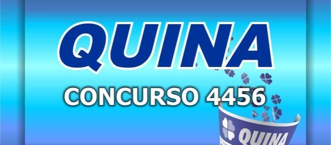 Resultado da Quina, 4456: veja os números sorteados nesta terça-feira (15/08)
