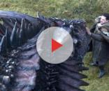 Jon Snow e Drogon no episódio 7x05 de Game of Thrones (HBO)