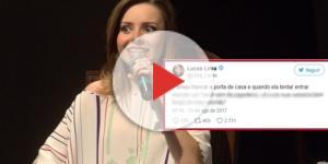 A cantora respondeu a brincadeira da melhor maneira possível ( Foto - Twitter )