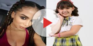 Anitta é a cantora favorita da atriz