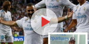 Benzema marque à la 39e et Matuidi à Turin