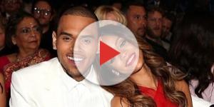 Chris Brown quando namorava Rihanna (Foto: Getty Images)