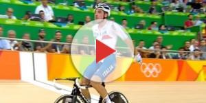 Il campione olimpico Elia Viviani