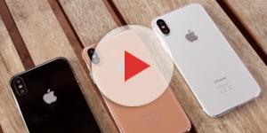 iPhone 8 nelle 3 colorazioni: bianca, nera e blush-gold