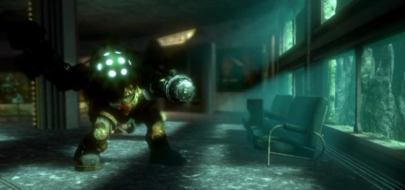 """""""This month marks the 10th year anniversary of Bioshock. Screenshot provided by 2K."""""""