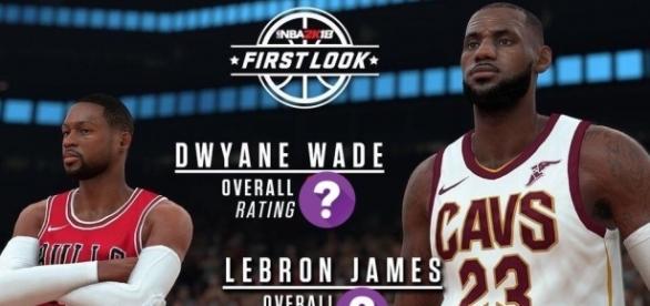YouTube Thumbnail Screenshot (Gento) - LeBron and Wade Ratings