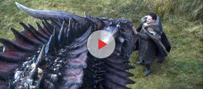Game of Thrones: Kit Harington e Emilia Clarke comentam cena épica de Jon Snow