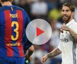 Gerard Piqué et Sergi Ramos - Liga