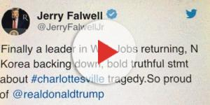 Jerry Falwell Tweet. Cheryl E Preston.