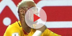 Neymar va devoir se méfier des défenses de Ligue 1 pour éviter les blessures. ( Crédit - DR)