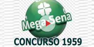 Sorteio da Mega-Sena, concurso 1959