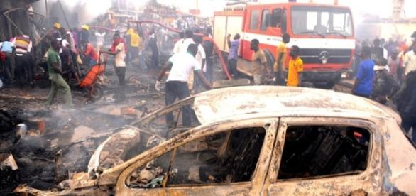 A similar attack in central Nigeria in 2014. (Public Domain Photo.)