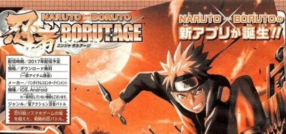 'Naruto x Boruto: Borutage' revealed as as an upcoming Android and iOS title(阿修羅//Fuusura‏ /Twitter)
