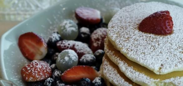 Pancakes with fruit / Jasma Fusion Cuisine YouTube Channel