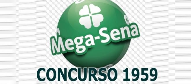 Resultado da Mega-Sena, 1959: confira as dezenas de hoje (16/08)