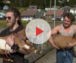 'Alaskan Bush People' Bam and Gabe promo shot ** w/ permission Discovery Channel