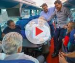 Ex-presidente Lula com seus aliados de partido
