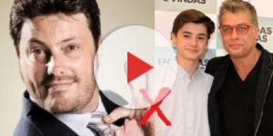 Gentili humilha Fábio Assunção que disse ao filho para não participar de seu filme