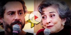 Alexandre Nero e Betty Faria fazem bate boca na Fátima