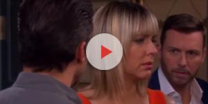 'Days of our Lives' Nicole, Brady, and Eric. (Image via YouTube screengrab/NBC)