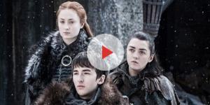Game of Thrones: Sansa, Bran e Arya voltaram a se reencontrar em Winterfell, na 7ª temporada (Foto: Reprodução/HBO)