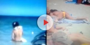 Momenti bollenti sulle spiagge italiane