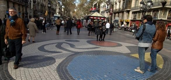 Las Ramblas, Barcelona. Photo: Edal Anton Lefterov/Public Domain