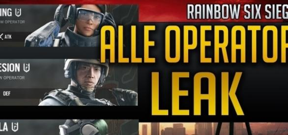 'Rainbow Six Siege' new operators leaked!(JerichoFive/YouTube Screenshot)