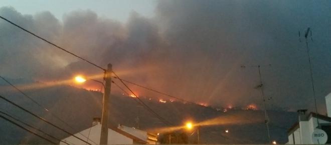 Incêndio no Louriçal: um inferno na Beira