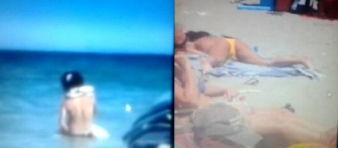 Estate trash in spiaggia: autoerotismo e rapporti completi, video virali