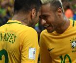 Neymar et Alvès se sont bien moqués du Barça pour rejoindre le PSG (Crédits - DR)