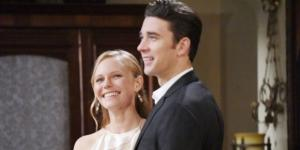 'Days Of Our Lives' Abigail and Chad promo shot ** used w/ permission CBS