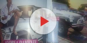 Andrea Damante multato dopo aver parcheggiato l'auto nel posto riservato ai disabili