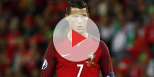 Cristiano Ronaldo com a '7' de Portugal