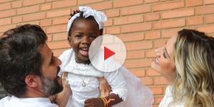 Batizado de Títi na Igreja Anglicana aconteceu em São Paulo. (Foto: Manuela Scarpa/Brazil News)