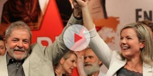 Gleisi Hoffmann acompanha Lula na caravana pelo Nordeste
