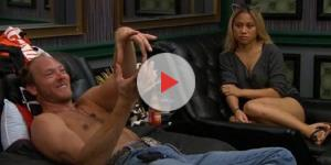 Screenshot of Jason Dent and Alex Ow 'Big Brother 19' ** OnlineBigBrother.com