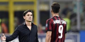 Vincenzo Montella schiererà dal 1° minuto contro il Crotone Andrè Silva